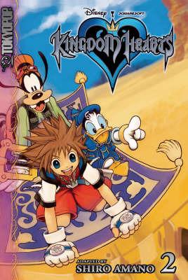Kingdom Hearts: v. 2 by Shiro Amano