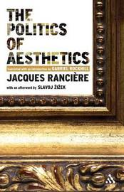 The Politics of Aesthetics by Jacques Ranciere image