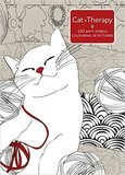 Cat Therapy: A Colouring Book for Adults by Charlotte Segond-Rabilloud