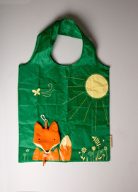 Foldable Shopping Bag: Fox