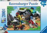 Ravensburger -Power Vehicles Puzzle (200pc)