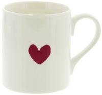 McLaggan Smith Mug (Mini Maroon Heart)