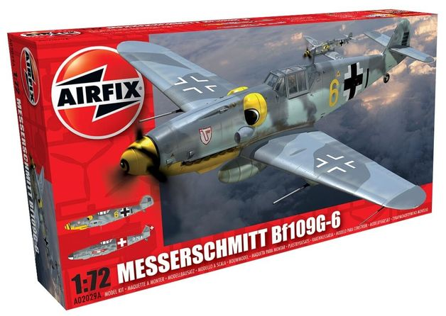Airfix Messerschmitt Bf109G-6 1:72 Model Kit