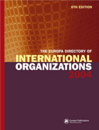 The Europa Directory of International Organizations 2004 image