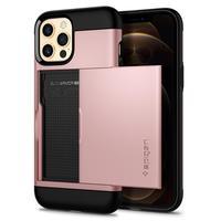 Spigen Slim Armour CS iPhone 12/12 Pro Case - Rose Gold