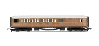 Hornby LNER Teak Brake Car 00 Gauge