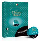 Chicco D'oro Espresso Coffee Capsules (12 Espressotoria)