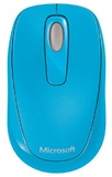 Microsoft Wireless Mobile Mouse 1000 - Cyan Blue