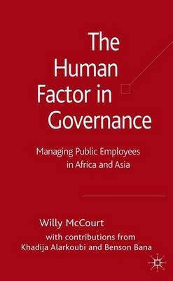 The Human Factor in Governance by Willy McCourt