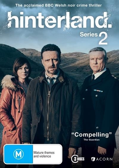 Hinterland Season 2 on DVD image