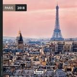 Paris 2018 Mini Wall Calendar