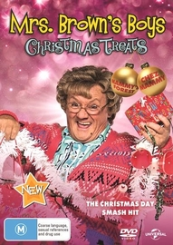 Mrs. Browns - Christmas Treats on DVD