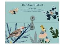 Roger La Borde: Writing Set - Chicago Blue School