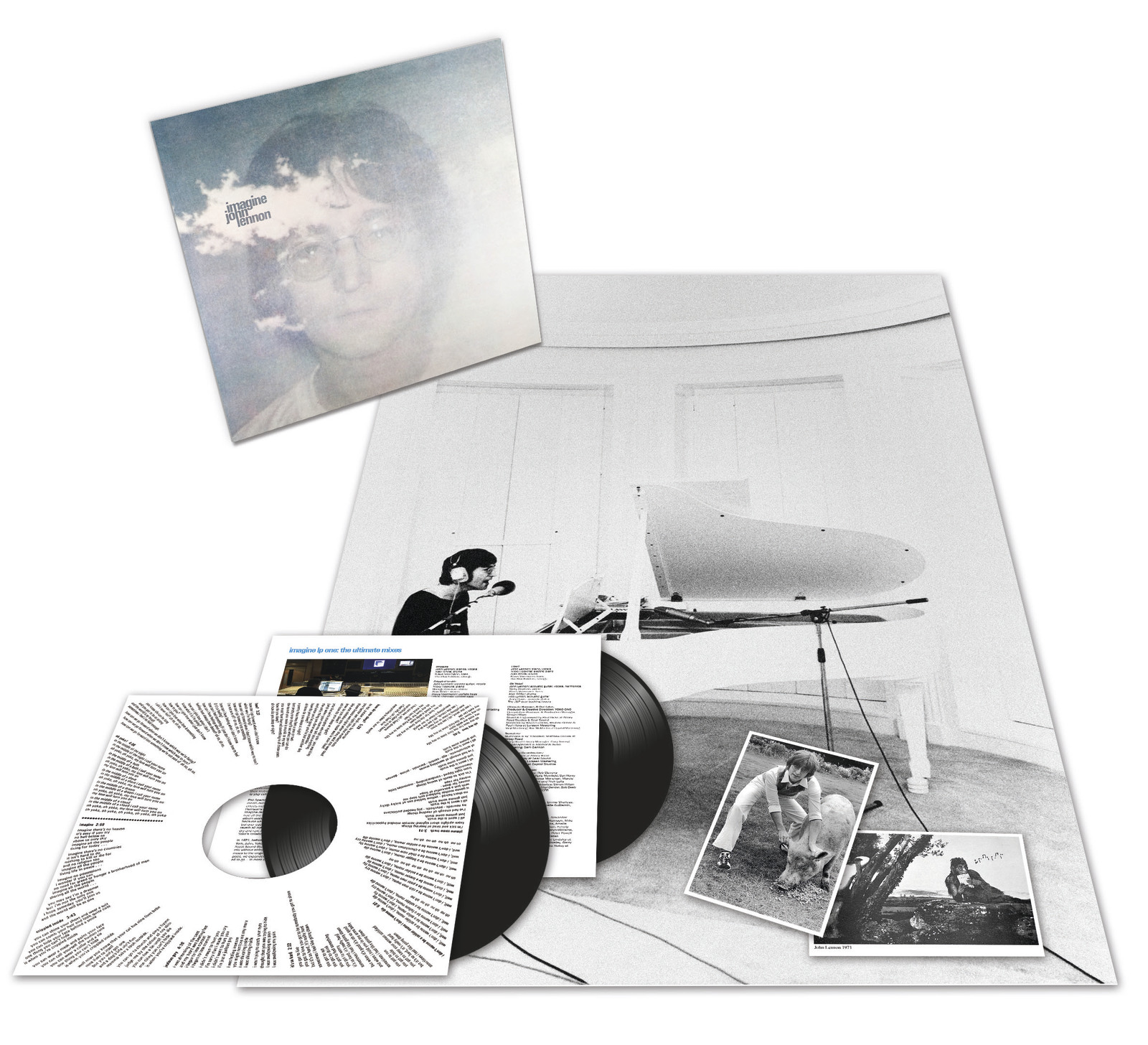 Imagine by John Lennon image