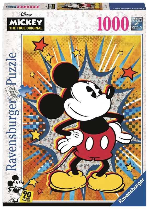 Ravensburger: 1,000 Piece Puzzle - Retro Mickey Mouse