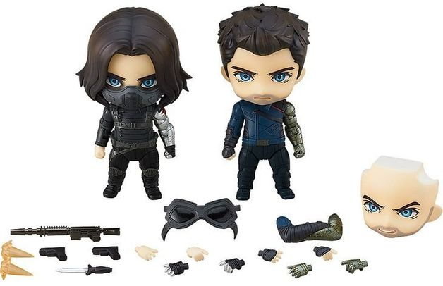 The Falcon and The Winter Soldier: Winter Soldier (Delux)- Nendoroid Figure