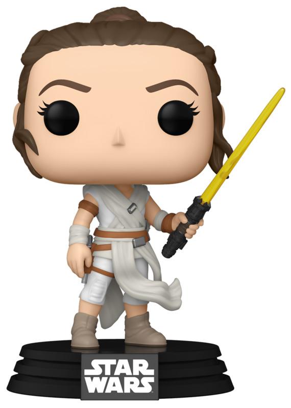Star Wars: Rey (with Yellow Lightsaber) - Pop! Vinyl Figure