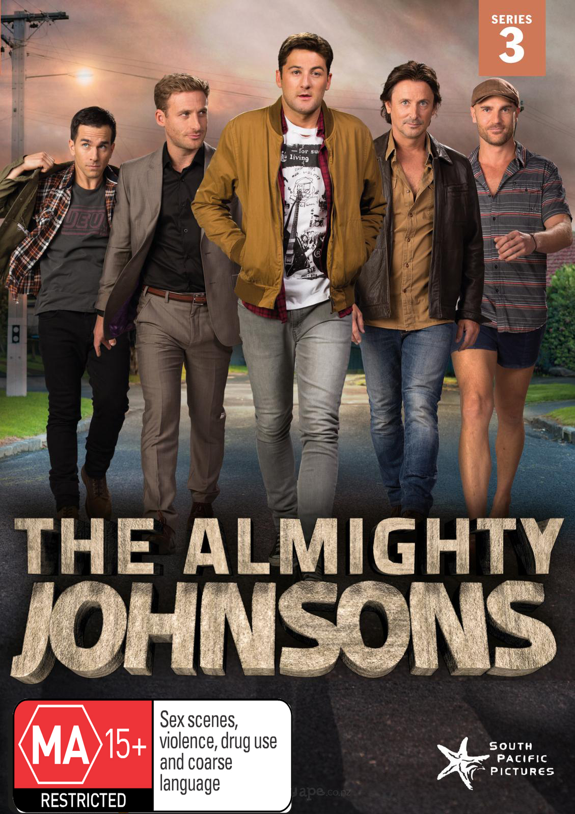 The Almighty Johnsons - The Complete Third Series DVD image