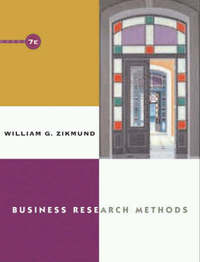 Business Research Methods by William G Zikmund image