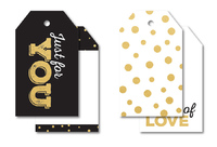Kaisercraft: A Touch of Gold - Tags (12 Pack)