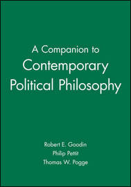 A Companion to Contemporary Political Philosophy image