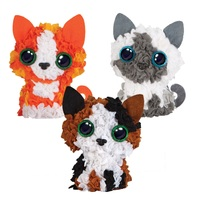 My Design: 3D Kitten Mini Club Plushcraft Kit