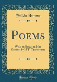 Poems by Felicia Hemans image