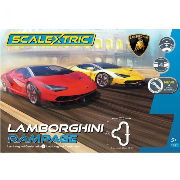 Scalextric Lamborghini Rampage Set At Mighty Ape Australia