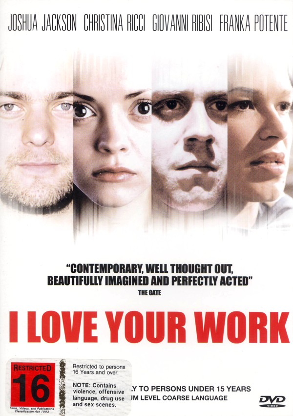 I Love Your Work on DVD image