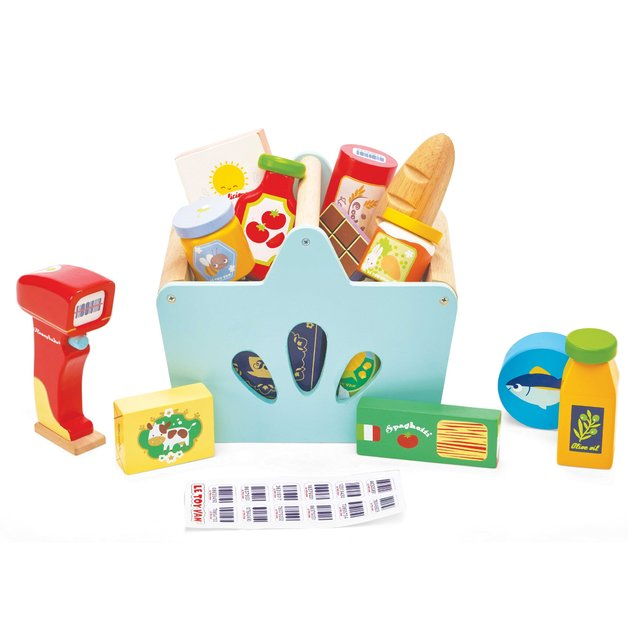 Le Toy Van: Groceries & Scanner - Wooden Playset