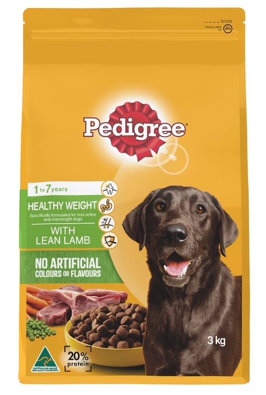 Pedigree Healthy Weight With Lean Lamb (3kg)