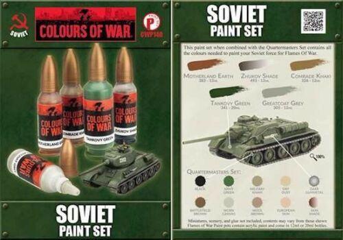 Colours of War - Soviet Paint Set