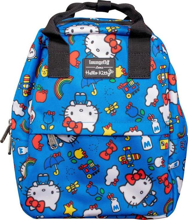 Loungefly: Hello Kitty - Blue Collage Backpack