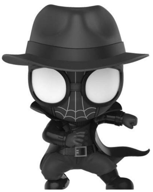 Spider-Man: Into the Spider-Verse - Spider-Man Noir Cosbaby Figure