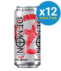 Demon Energy Zero Sugar 500ml (12 Pack)