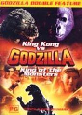 Godzilla Double #1 - King Kong Vs Godzilla, King Of The Monsters on DVD