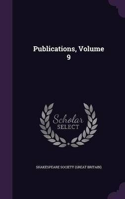Publications, Volume 9 image