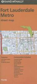 Folded Map Fort Lauderdale Metro Streets FL by Rand McNally