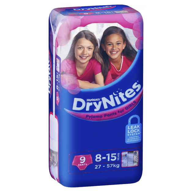 Huggies DryNites - 8-15 Year Girl 27-57kg (9)