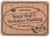 T&G: Cork Tablemats Steak n Kidney (Set of 2)