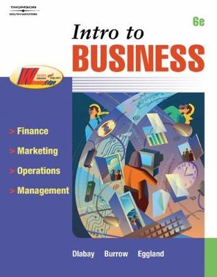 Intro to Business by Steven A. Eggland
