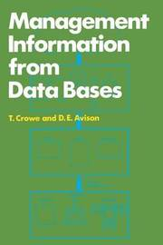 Management Information from Data Bases by Tom Crowe