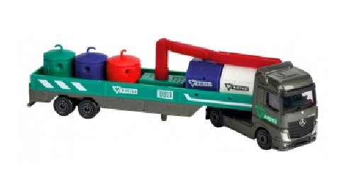 Majorette: Utility Transporter Playset - Recycling