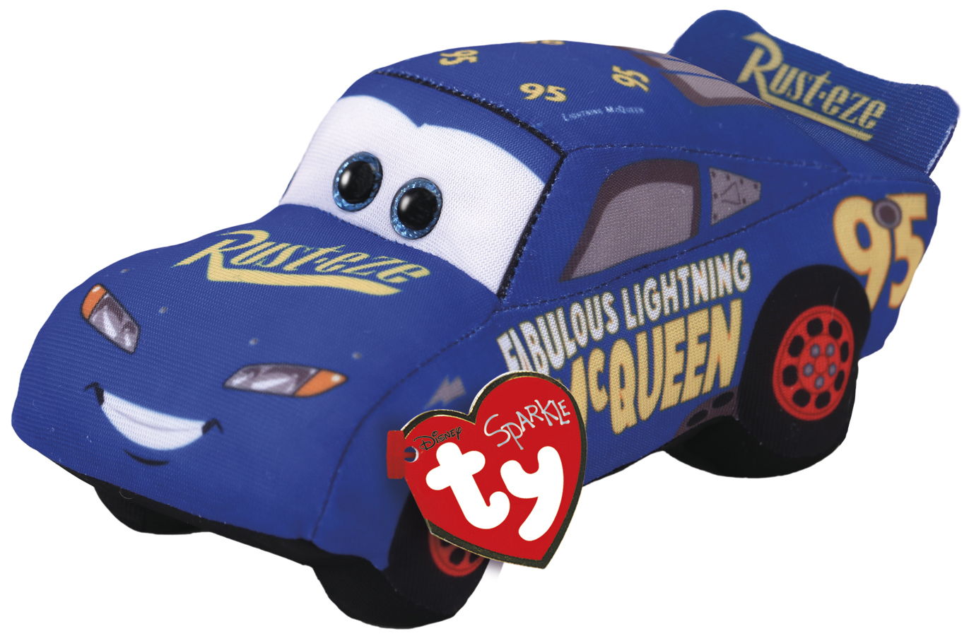 Ty Cars: Fabulous Mcqueen - Themed Plush image