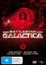 Battlestar Galactica Collection (Mini-Series / Series 1-3) (16 Disc Box Set) on DVD