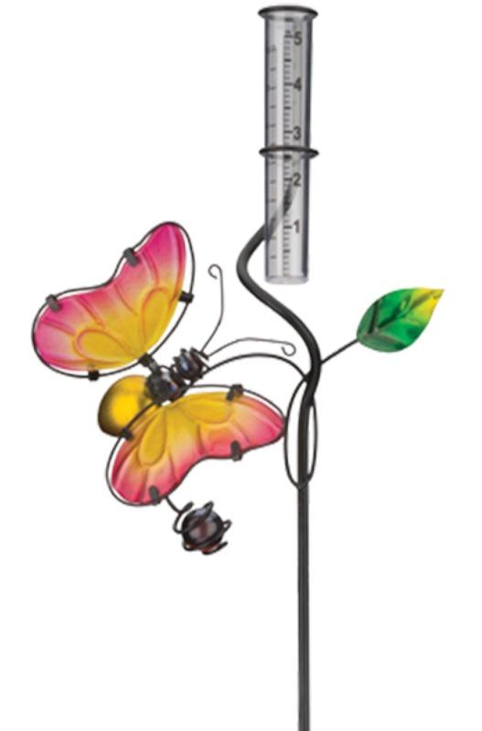 Regal Art & Gift: Rain Gauge Stake - Butterfly