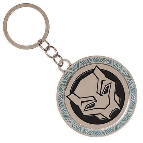 Marvel: Black Panther Logo - Metal Key Chain