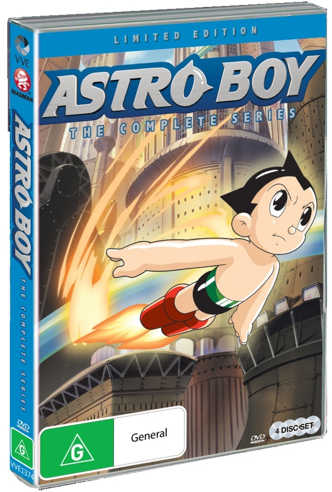 Astro Boy - The Complete Series on DVD image