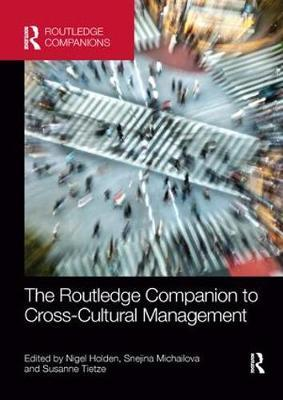 The Routledge Companion to Cross-Cultural Management image