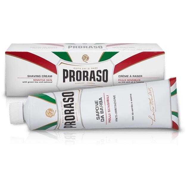 Proraso: White Shaving Cream Tube - Sensitive Skin (150ml)